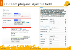CB Ajax File fieldtype