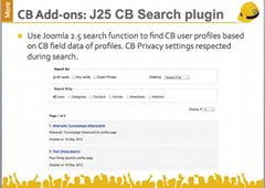 J25/3.x CB Search Plugin