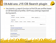 J15 CB Search plugin