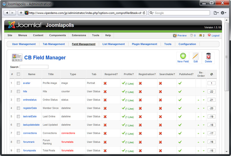 Community Builder - Joomla Social Networking Solution
