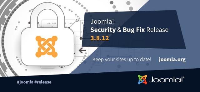 Joomla 3.8.12 Security And Bug Fixes Release!