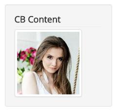 CB Content in Custom HTML Module