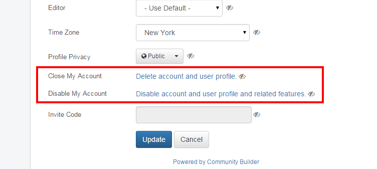 how to delete my oracle support account