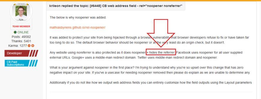 6448] CB web address field - rel=
